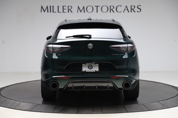 New 2021 Alfa Romeo Stelvio Ti Sport Q4 for sale $56,450 at Bentley Greenwich in Greenwich CT 06830 6