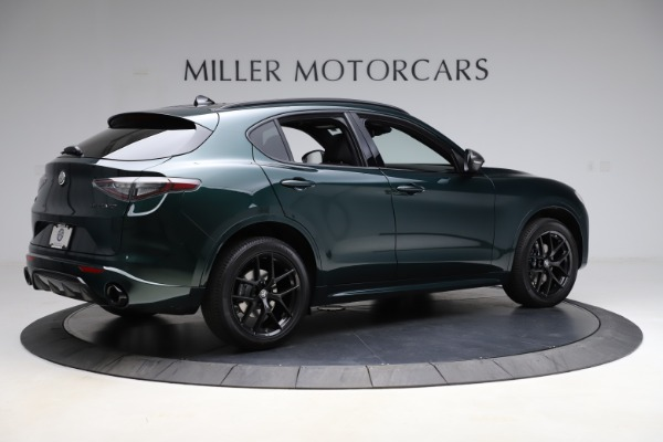 New 2021 Alfa Romeo Stelvio Ti Sport Q4 for sale $56,450 at Bentley Greenwich in Greenwich CT 06830 8