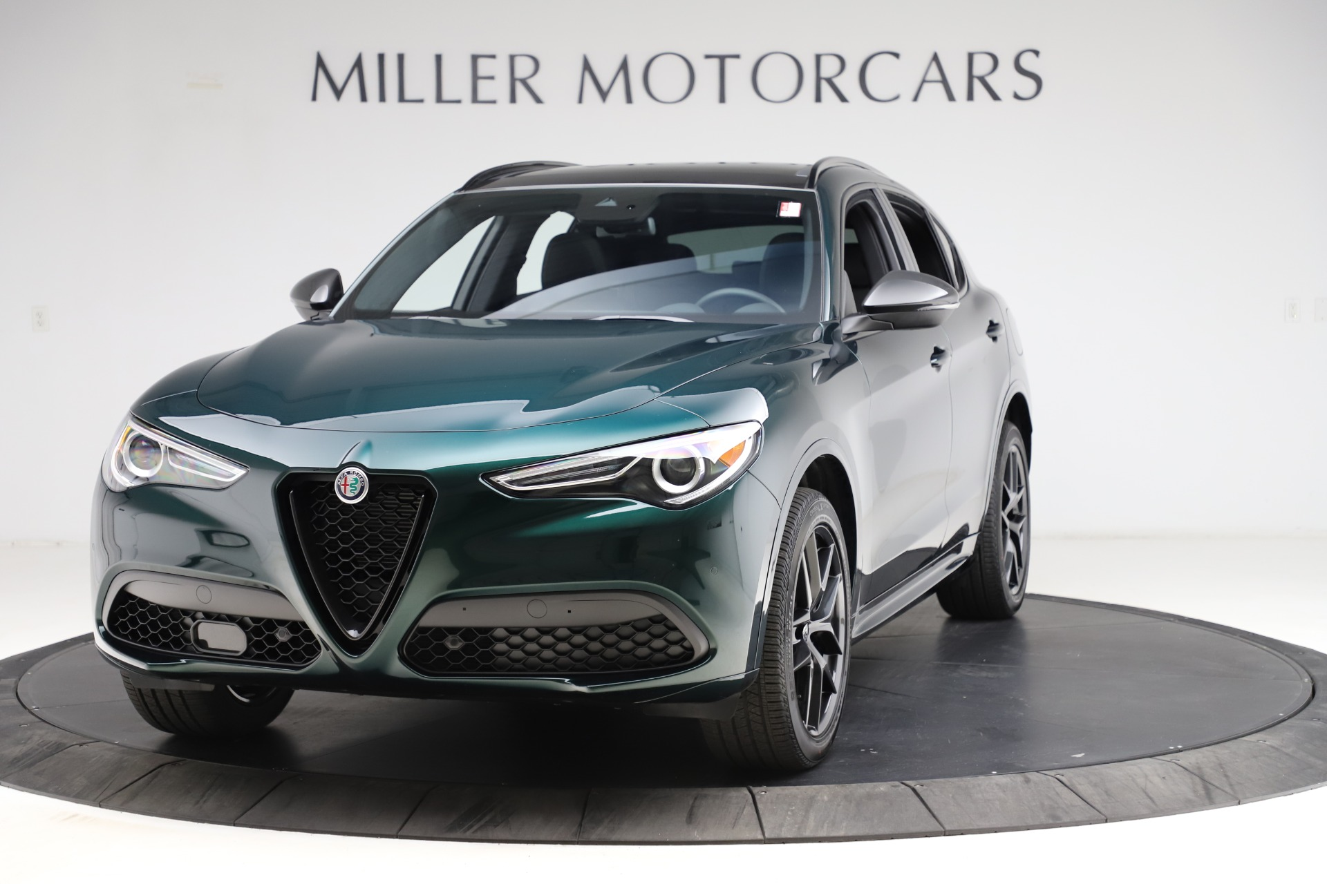New 2021 Alfa Romeo Stelvio Ti Sport Q4 for sale $56,450 at Bentley Greenwich in Greenwich CT 06830 1