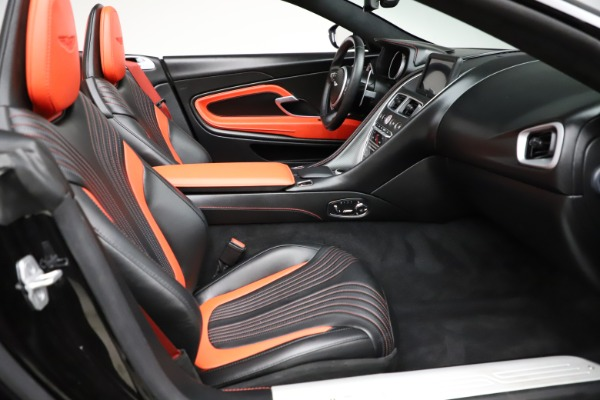Used 2019 Aston Martin DB11 Volante Volante for sale $204,900 at Bentley Greenwich in Greenwich CT 06830 21