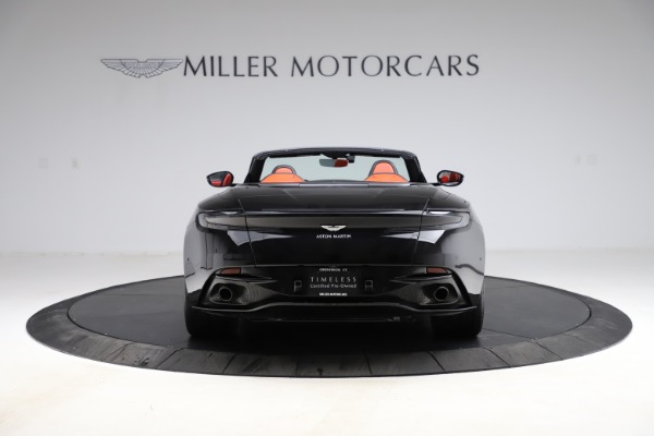 Used 2019 Aston Martin DB11 Volante Volante for sale $204,900 at Bentley Greenwich in Greenwich CT 06830 5