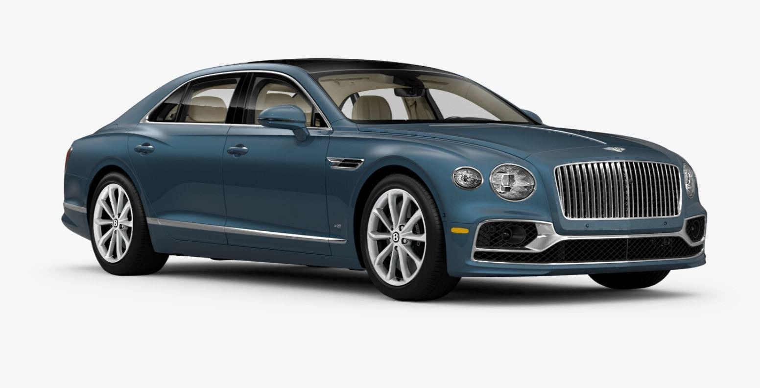 New 2021 Bentley Flying Spur V8 for sale $226,725 at Bentley Greenwich in Greenwich CT 06830 1