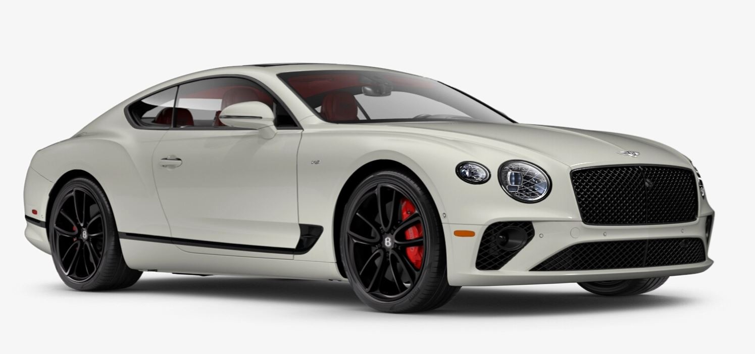 New 2021 Bentley Continental GT V8 for sale $270,170 at Bentley Greenwich in Greenwich CT 06830 1