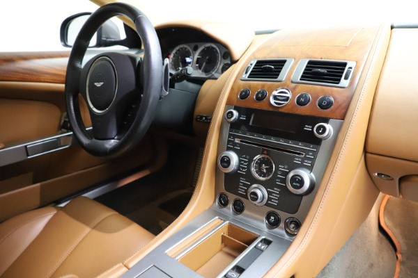 Used 2012 Aston Martin DB9 for sale Call for price at Bentley Greenwich in Greenwich CT 06830 18