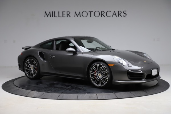 Used 2015 Porsche 911 Turbo for sale $109,900 at Bentley Greenwich in Greenwich CT 06830 10