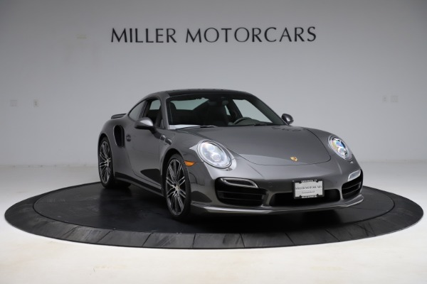 Used 2015 Porsche 911 Turbo for sale $109,900 at Bentley Greenwich in Greenwich CT 06830 11