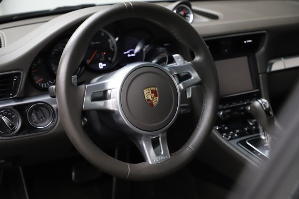 Used 2015 Porsche 911 Turbo for sale $109,900 at Bentley Greenwich in Greenwich CT 06830 16
