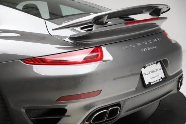 Used 2015 Porsche 911 Turbo for sale $109,900 at Bentley Greenwich in Greenwich CT 06830 27