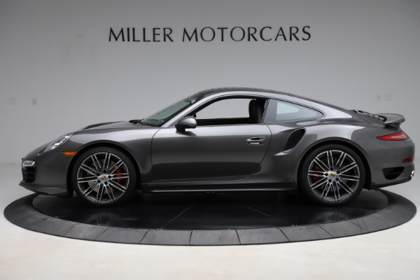 Used 2015 Porsche 911 Turbo for sale $109,900 at Bentley Greenwich in Greenwich CT 06830 3