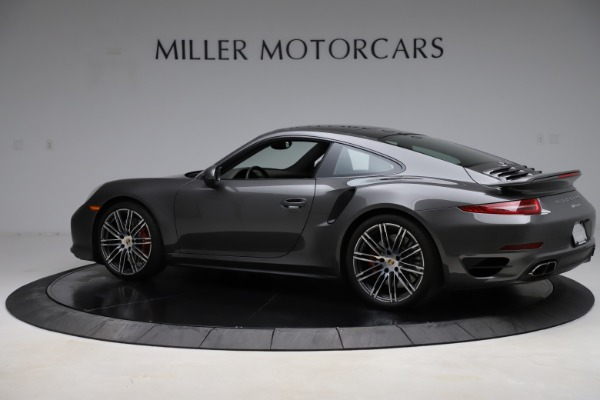Used 2015 Porsche 911 Turbo for sale $109,900 at Bentley Greenwich in Greenwich CT 06830 4