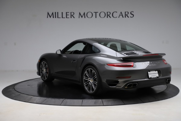 Used 2015 Porsche 911 Turbo for sale $109,900 at Bentley Greenwich in Greenwich CT 06830 5
