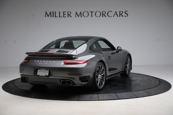 Used 2015 Porsche 911 Turbo for sale $109,900 at Bentley Greenwich in Greenwich CT 06830 7