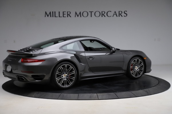 Used 2015 Porsche 911 Turbo for sale $109,900 at Bentley Greenwich in Greenwich CT 06830 8