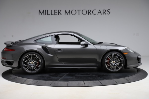 Used 2015 Porsche 911 Turbo for sale $109,900 at Bentley Greenwich in Greenwich CT 06830 9