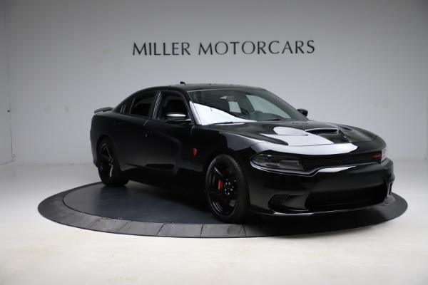 Used 2018 Dodge Charger SRT Hellcat for sale $59,900 at Bentley Greenwich in Greenwich CT 06830 11