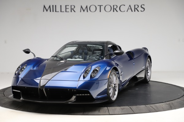 Used 2017 Pagani Huayra Roadster for sale Call for price at Bentley Greenwich in Greenwich CT 06830 13