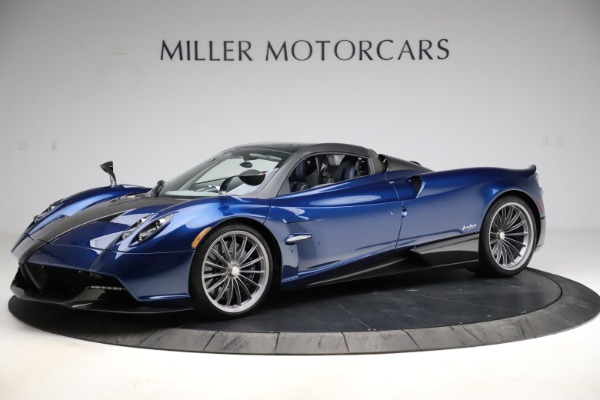 Used 2017 Pagani Huayra Roadster for sale Call for price at Bentley Greenwich in Greenwich CT 06830 14