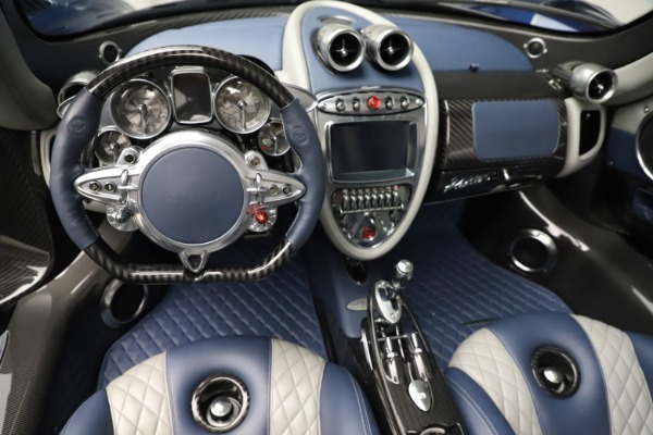Used 2017 Pagani Huayra Roadster for sale Call for price at Bentley Greenwich in Greenwich CT 06830 22
