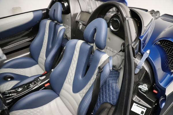 Used 2017 Pagani Huayra Roadster for sale Call for price at Bentley Greenwich in Greenwich CT 06830 24