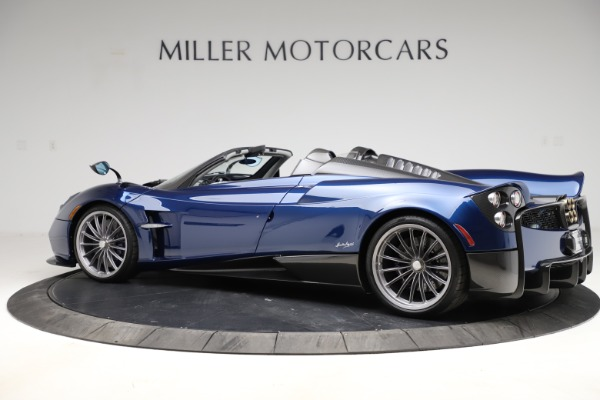 Used 2017 Pagani Huayra Roadster for sale Call for price at Bentley Greenwich in Greenwich CT 06830 4