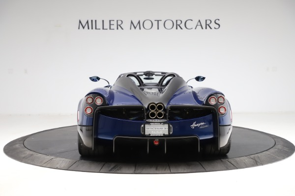 Used 2017 Pagani Huayra Roadster for sale Call for price at Bentley Greenwich in Greenwich CT 06830 6