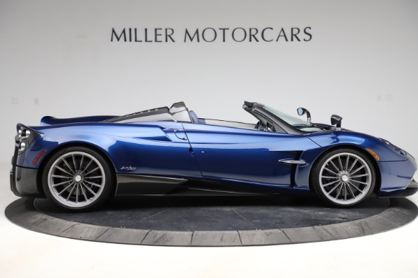 Used 2017 Pagani Huayra Roadster for sale Call for price at Bentley Greenwich in Greenwich CT 06830 9
