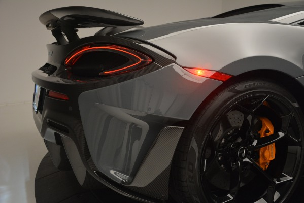 Used 2019 McLaren 600LT Luxury for sale Sold at Bentley Greenwich in Greenwich CT 06830 27