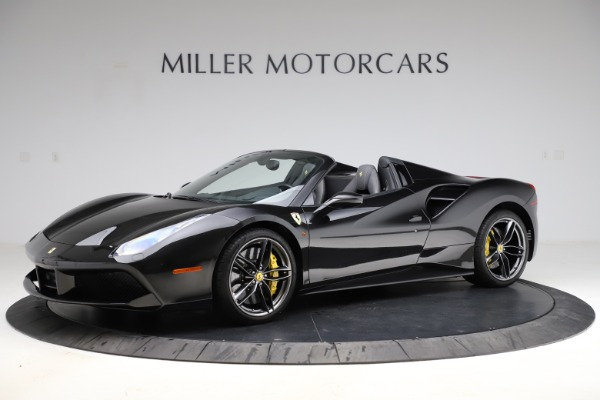 Used 2017 Ferrari 488 Spider for sale Call for price at Bentley Greenwich in Greenwich CT 06830 2