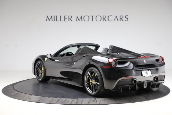Used 2017 Ferrari 488 Spider for sale Call for price at Bentley Greenwich in Greenwich CT 06830 5