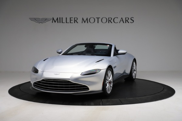 New 2021 Aston Martin Vantage Roadster for sale $184,286 at Bentley Greenwich in Greenwich CT 06830 12