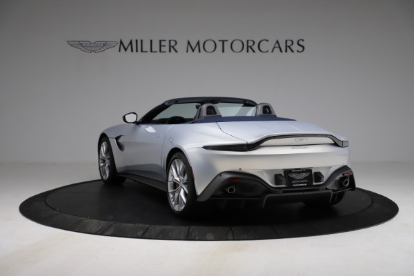 New 2021 Aston Martin Vantage Roadster for sale $184,286 at Bentley Greenwich in Greenwich CT 06830 4