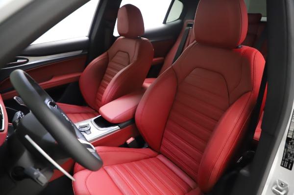 New 2021 Alfa Romeo Stelvio Ti Sport Q4 for sale Sold at Bentley Greenwich in Greenwich CT 06830 15