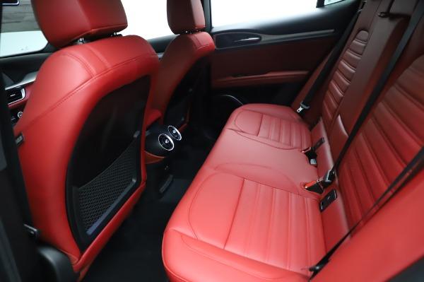 New 2021 Alfa Romeo Stelvio Ti Sport Q4 for sale Sold at Bentley Greenwich in Greenwich CT 06830 19