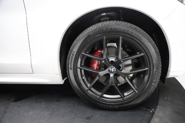New 2021 Alfa Romeo Stelvio Ti Sport Q4 for sale Sold at Bentley Greenwich in Greenwich CT 06830 28