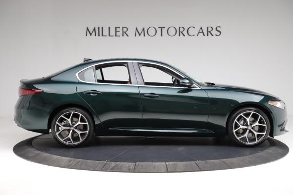 New 2021 Alfa Romeo Giulia Ti Q4 for sale Sold at Bentley Greenwich in Greenwich CT 06830 11