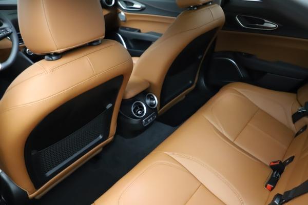 New 2021 Alfa Romeo Giulia Ti Q4 for sale Sold at Bentley Greenwich in Greenwich CT 06830 21