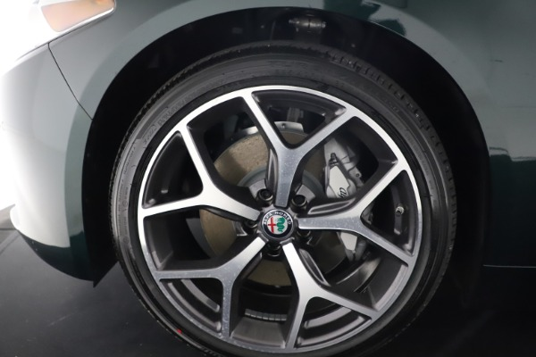 New 2021 Alfa Romeo Giulia Ti Q4 for sale Sold at Bentley Greenwich in Greenwich CT 06830 27