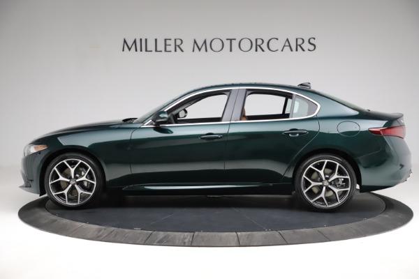 New 2021 Alfa Romeo Giulia Ti Q4 for sale Sold at Bentley Greenwich in Greenwich CT 06830 4
