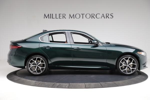 New 2021 Alfa Romeo Giulia Ti Q4 for sale Sold at Bentley Greenwich in Greenwich CT 06830 9