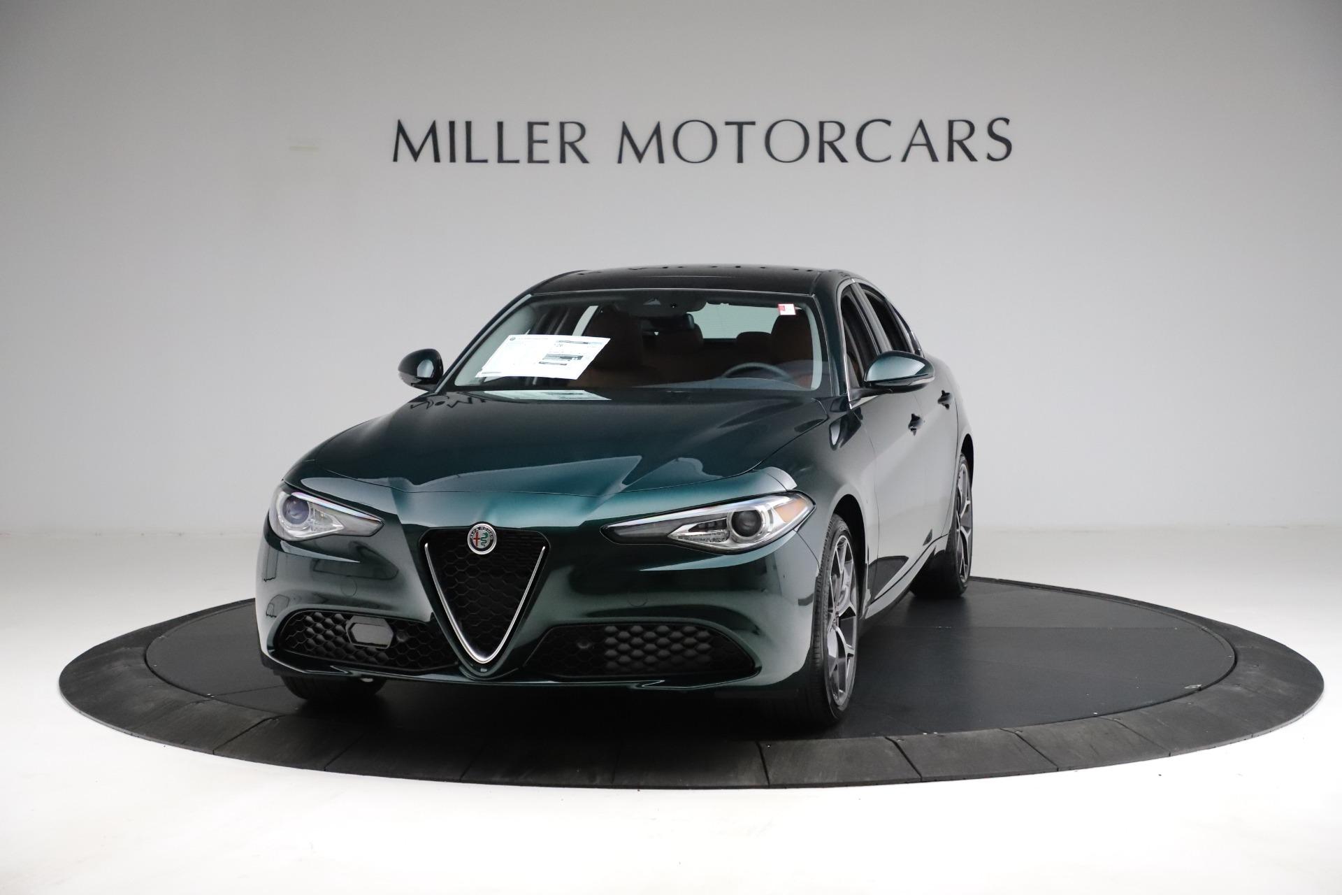 New 2021 Alfa Romeo Giulia Ti Q4 for sale Sold at Bentley Greenwich in Greenwich CT 06830 1
