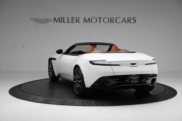 New 2021 Aston Martin DB11 Volante for sale $272,686 at Bentley Greenwich in Greenwich CT 06830 4