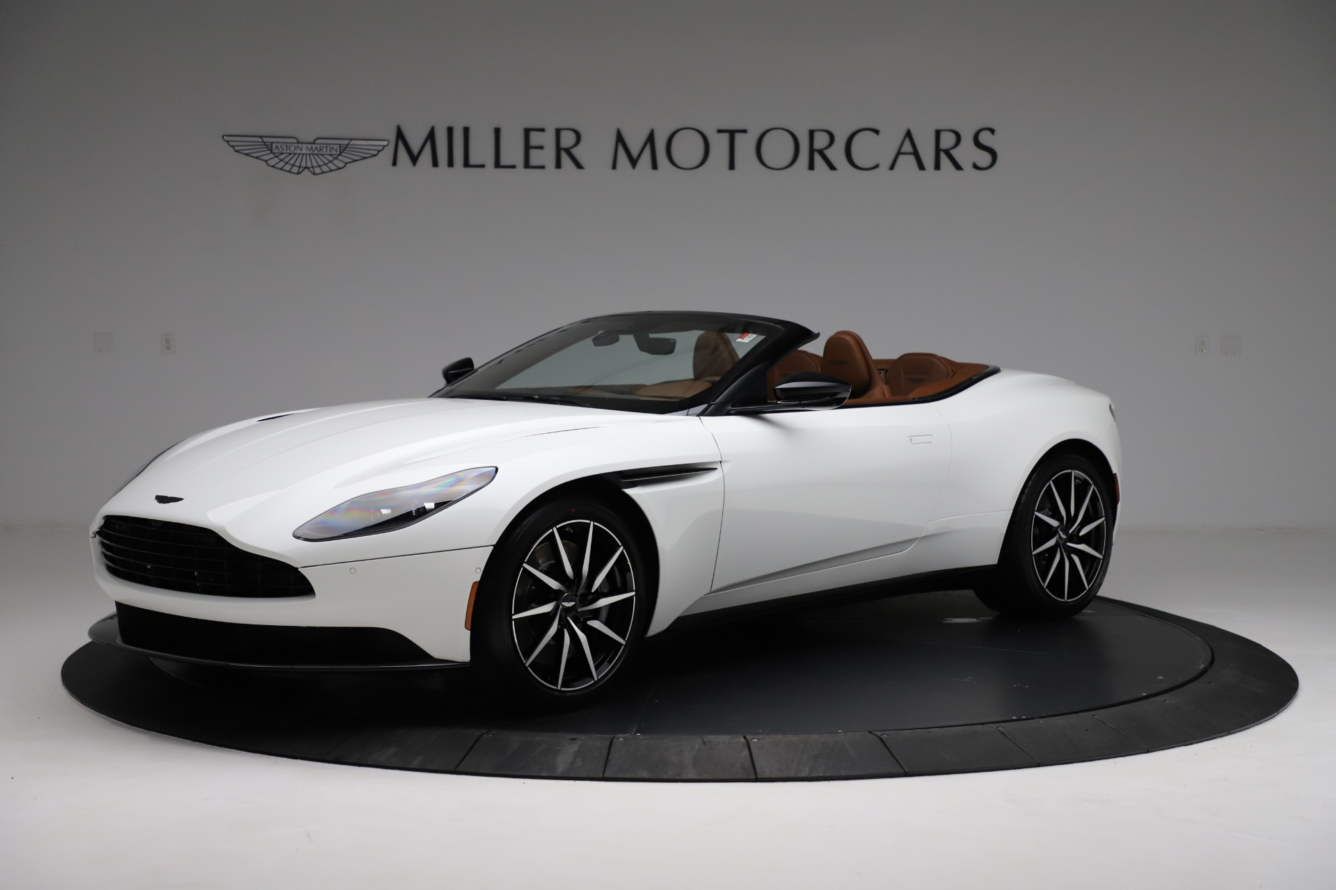 New 2021 Aston Martin DB11 Volante for sale $272,686 at Bentley Greenwich in Greenwich CT 06830 1