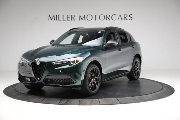 New 2021 Alfa Romeo Stelvio Ti Sport Q4 for sale $56,400 at Bentley Greenwich in Greenwich CT 06830 2