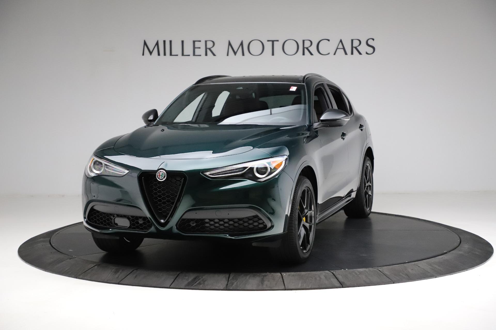 New 2021 Alfa Romeo Stelvio Ti Sport Q4 for sale $56,400 at Bentley Greenwich in Greenwich CT 06830 1