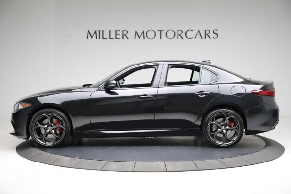 New 2021 Alfa Romeo Giulia Ti Sport Q4 for sale $53,850 at Bentley Greenwich in Greenwich CT 06830 3