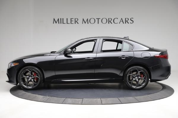 New 2021 Alfa Romeo Giulia Ti Sport Q4 for sale $53,850 at Bentley Greenwich in Greenwich CT 06830 4