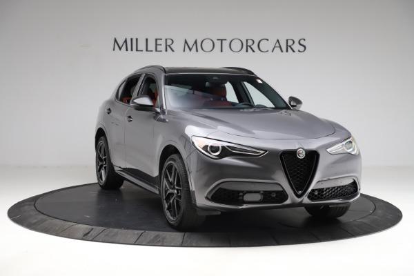 New 2021 Alfa Romeo Stelvio Ti Sport Q4 for sale Sold at Bentley Greenwich in Greenwich CT 06830 12