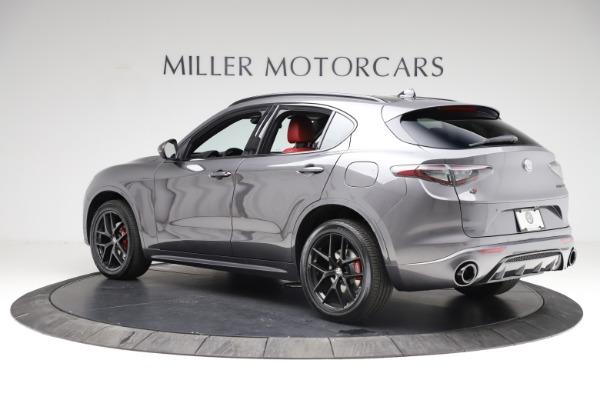 New 2021 Alfa Romeo Stelvio Ti Sport Q4 for sale Sold at Bentley Greenwich in Greenwich CT 06830 4