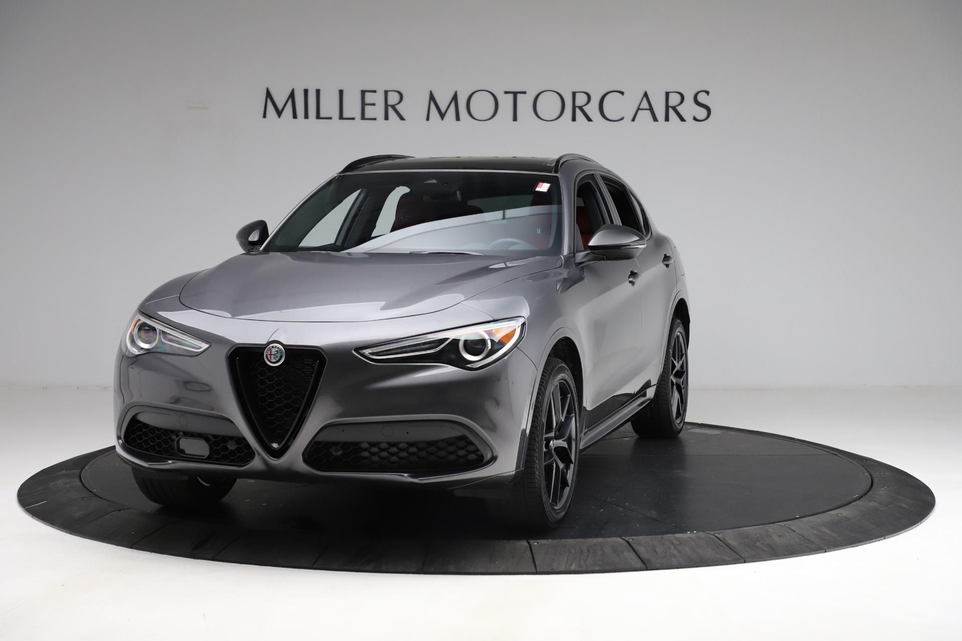New 2021 Alfa Romeo Stelvio Ti Sport Q4 for sale $55,950 at Bentley Greenwich in Greenwich CT 06830 1