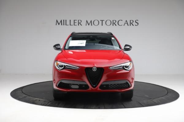 New 2021 Alfa Romeo Stelvio Q4 for sale $50,535 at Bentley Greenwich in Greenwich CT 06830 13